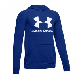 Sweatshirt Under Armor Rival Logo Hoody JR 1325328-401