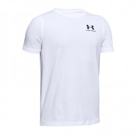 T-shirt Under Armour Charged Cotton JR 1347096-100