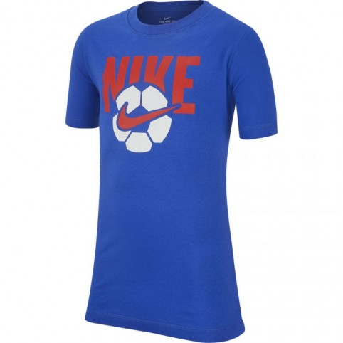 T-Shirt Nike B NSW Tee Soccer Ball Jr AR5286 480