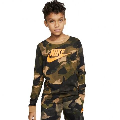 T-Shirt Nike NSW Camo Jr CK5765-243
