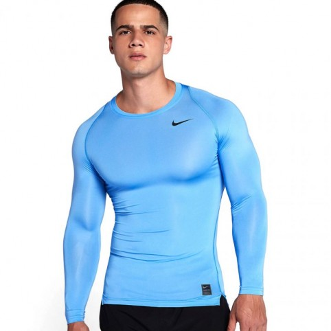 T-Shirt Nike Pro Cool Compression LS Top M 703088-412