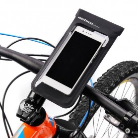 Waterproof bicycle case for the Meteor Crib 23795 phone