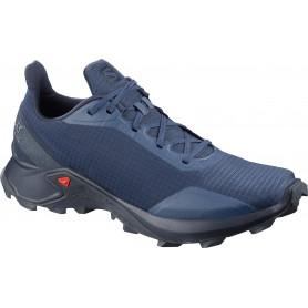 Salomon Trail Running Shoes Alphacross Sargasso S / Navy Blaze / I Men's Shoe