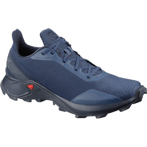 Salomon Trail Running Shoes Alphacross Sargasso S/Navy Blaze/I Παπουτσι Ανδρικο