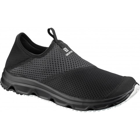 Salomon Recovery Shoes Rx Moc 4.0 Black/Phantom/White Παπουτσι Ανδρικο