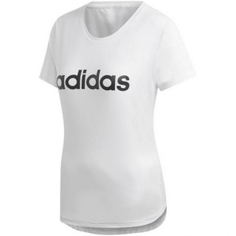 T-shirt adidas W D2M Logo Tee W DU2080