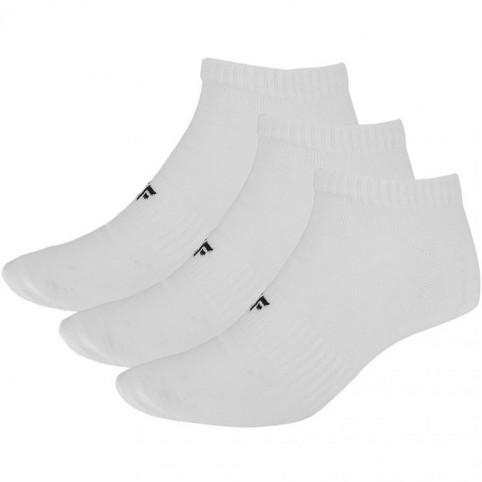 Men's socks 4F white H4L20 SOM001 10S 10S 10S