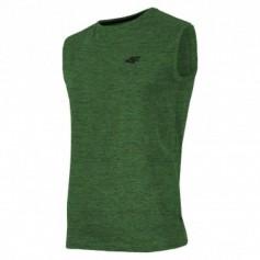 T-shirt 4F M H4L19-TSM001 41M melange green
