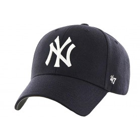 47 Brand MLB New York Yankees Jr Cap B-MVP17WBV-HM-YTH