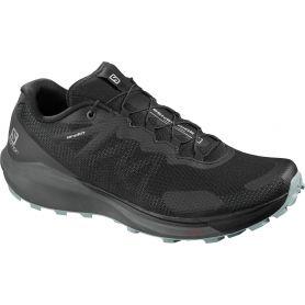 Salomon Trail Running Shoes Sense Ride 3 Black/Ebony/Lead Παπουτσι Ανδρικο