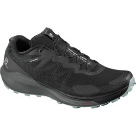Salomon Trail Running Shoes Sense Ride 3 Black / Ebony / Lead Men's L40956300