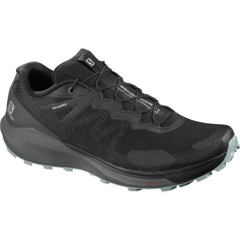 Salomon Trail Running Shoes Sense Ride 3 Black/Ebony/Lead Παπουτσι Ανδρικο L40956300