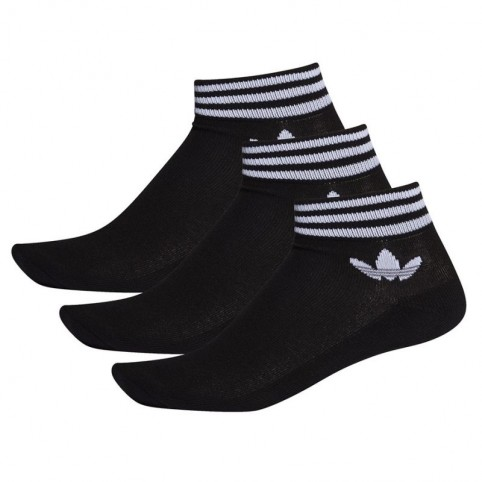 Adidas Originals Trefoil Ankle Socks 3P M E1151 socks