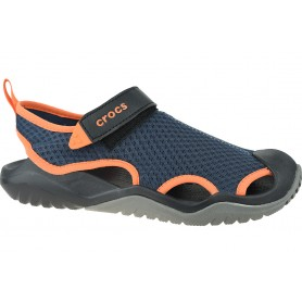 Crocs M Swiftwater Mesh Deck Sandal 205289-4V9
