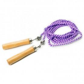 Allright purple skipping rope FIADSKNP