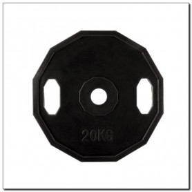 Olympic plate rubberized 20 kg HMS TOG20