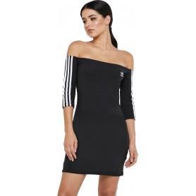 adidas Originals Off-the-Shoulder Dress W ED7521