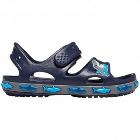 Sandaly Crocs Crocs FL Shark Band Sandal B Jr 206365 410