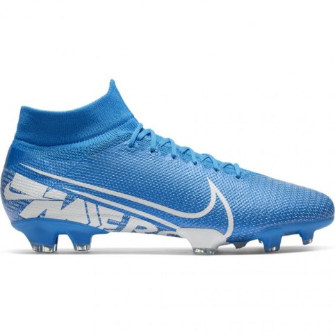 Nike Mercurial Superfly 7 Pro FG M AT5382 414 blue football shoes