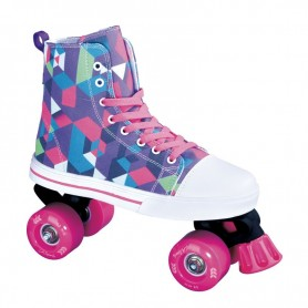 Roller skates La Sports Canvas JR 14120SPI Size 34