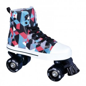 Roller skates La Sports Canvas JR 14120SBK Size 35