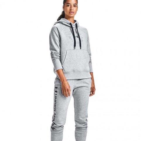 Under Armor Rival Fleece Metallic Hoodie W 1356 323 035