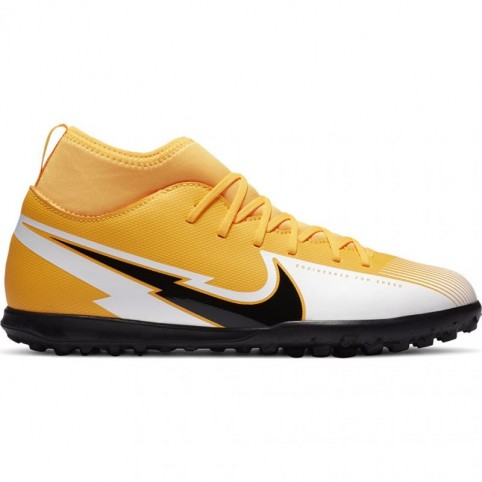 Nike Mercurial Superfly 7 Club TF Jr AT8156 801 football shoes