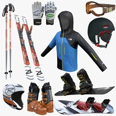 Ski & Snowboard Equipment
